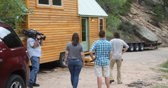 Tiny House Hunters Filming