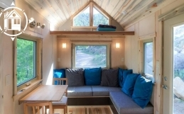 Green Tiny House Built By Eco-Friendly Couple